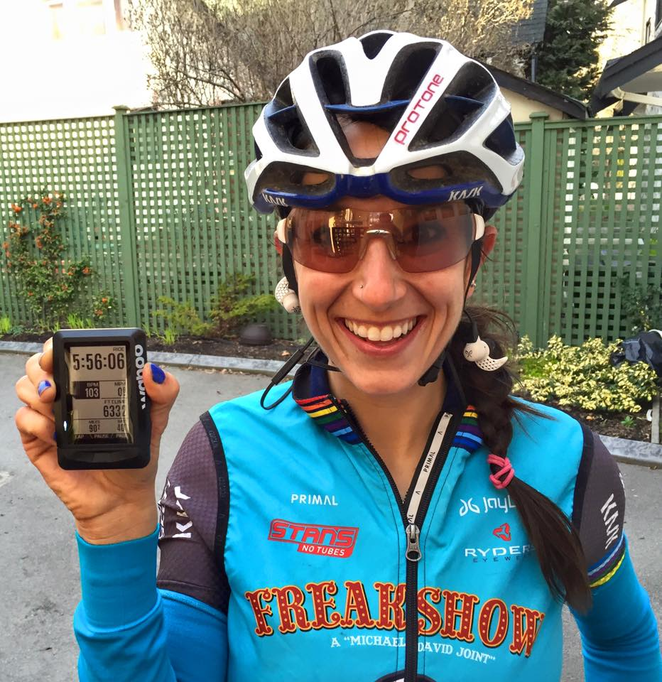 @sonyalooney1's cover photo for 'Wahoo Fitness ELEMNT Bike Computer Review - Sonya Looney'