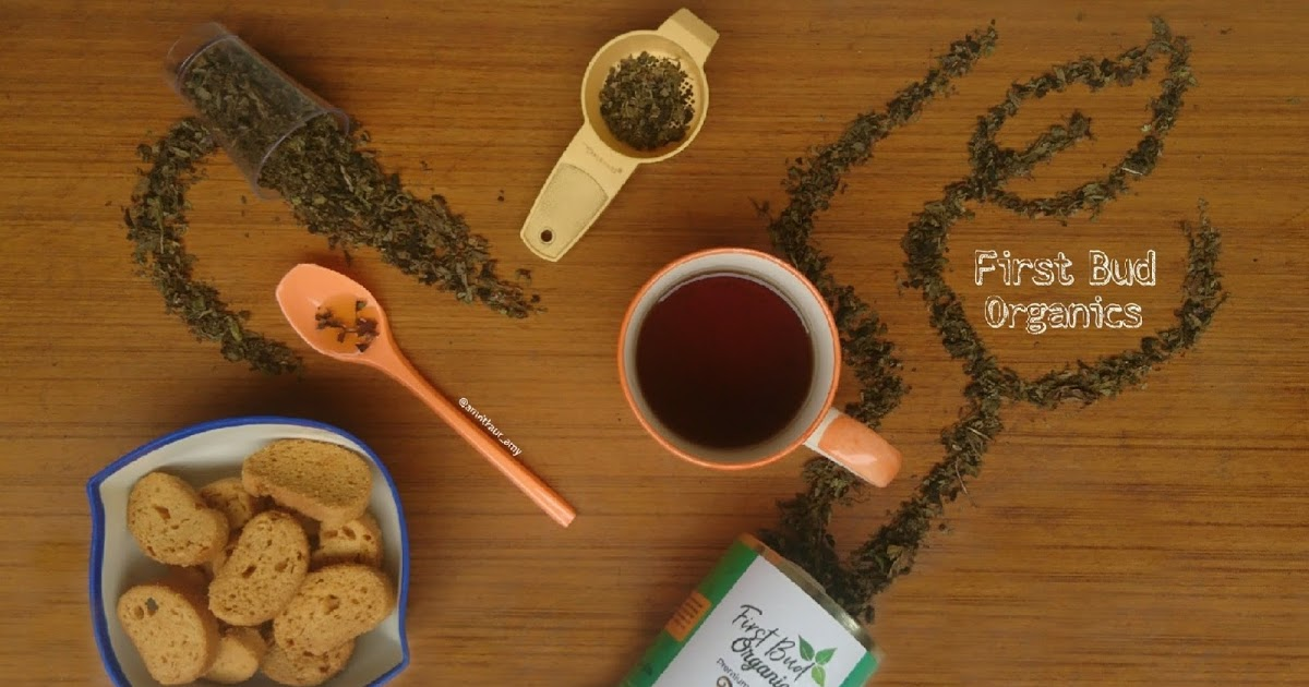 @amritkaur_amy's cover photo for 'First Bud Organics Premium Tulsi Green Tea'