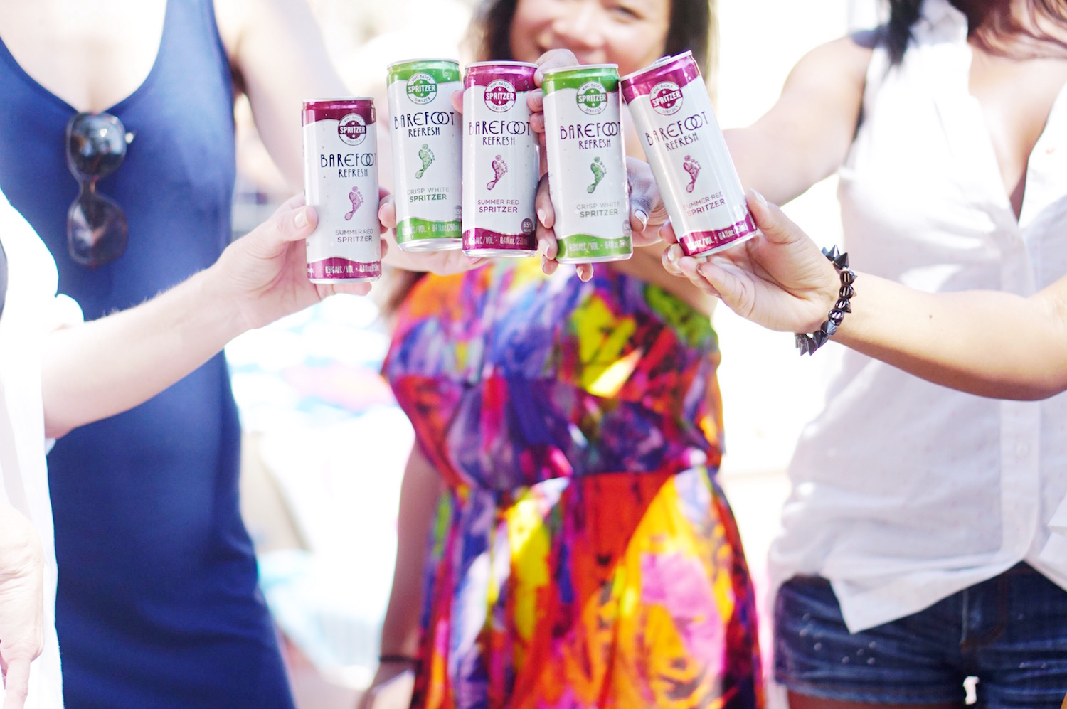 @neferteriplessy's cover photo for '#YeahYouCan Summer Party with Barefoot Wine!'