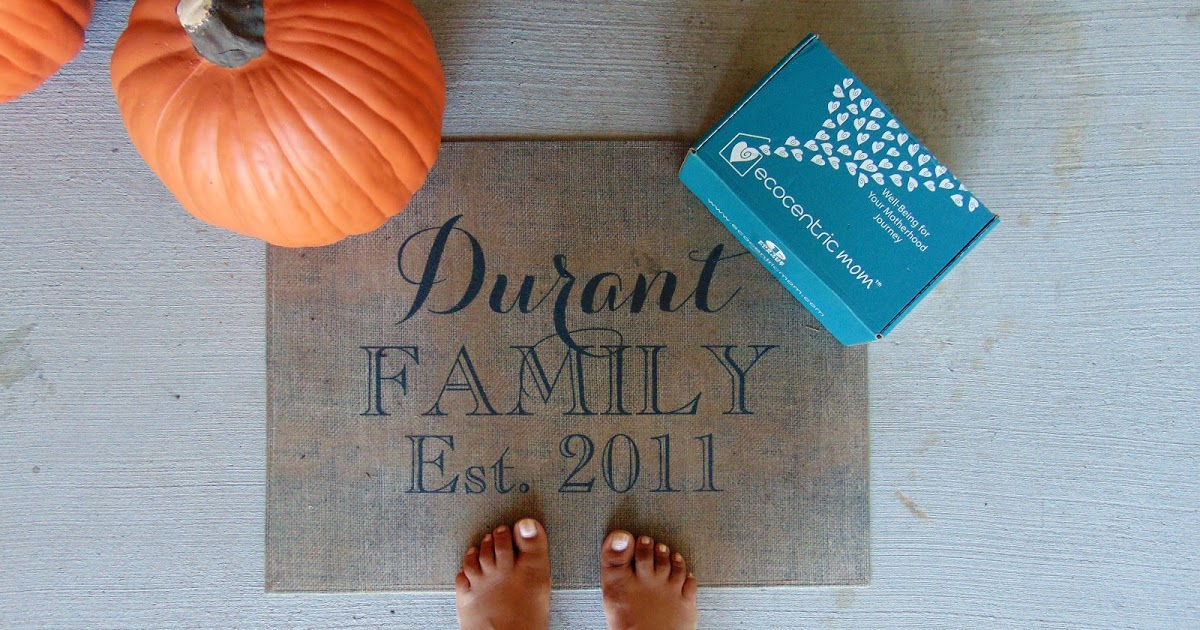 @simplydurant's cover photo for 'Simply Durant: Ecocentric Mom Series: September Mom Box Review'