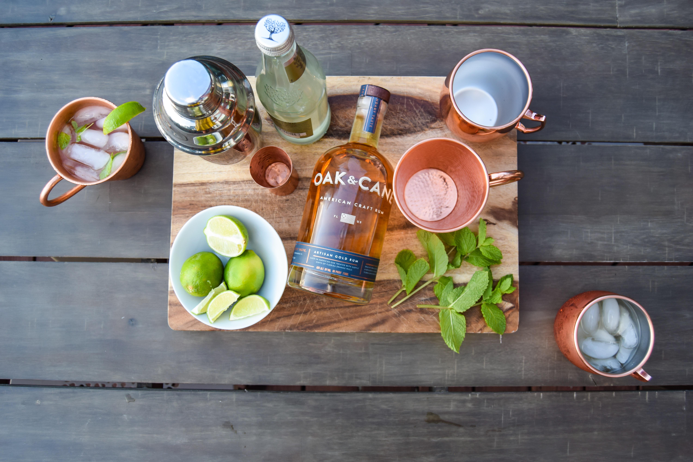@amandakwaltman's cover photo for 'Oak & Cane - American Craft Rum & A Favorite Cocktail Recipe | The Brilliant Balance'