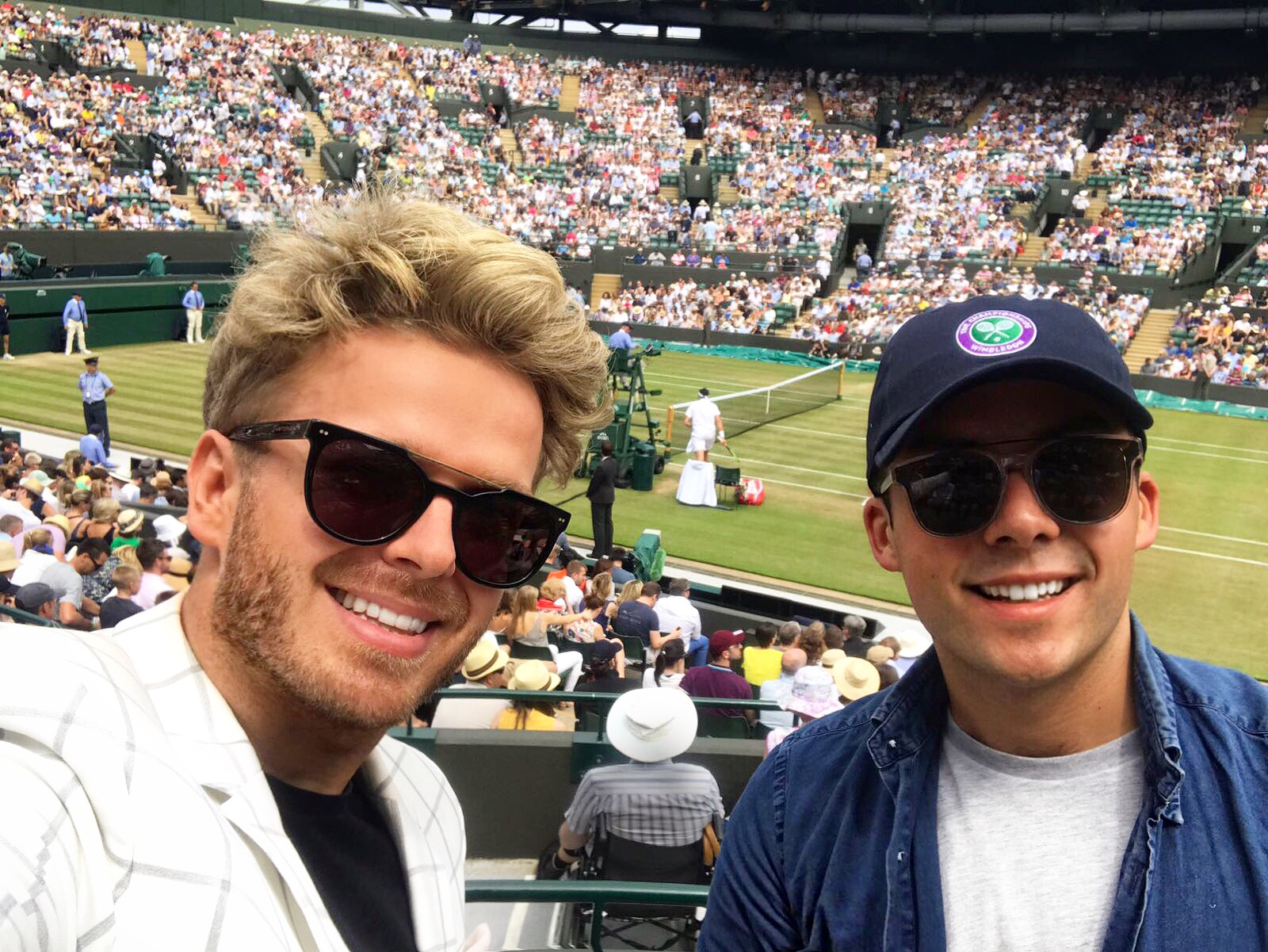 @benny_hancock's cover photo for 'WATCHING WIMBLEDON 2017 -'