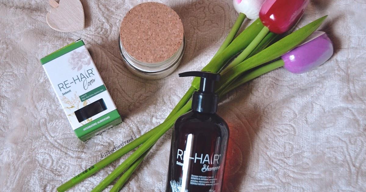 @discoveringtrend's cover photo for 'RE-HAIR, l'alleato perfetto contro la caduta dei capelli'