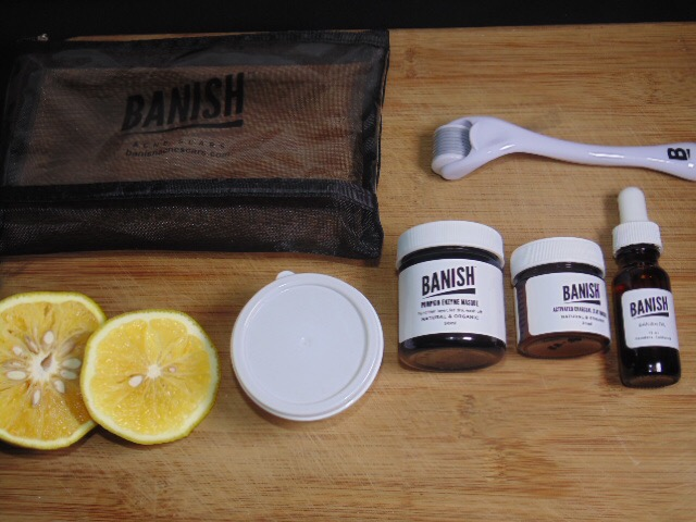 @thatwingedeyeblogger's cover photo for 'Banish Acne Scars – Product Review !!'