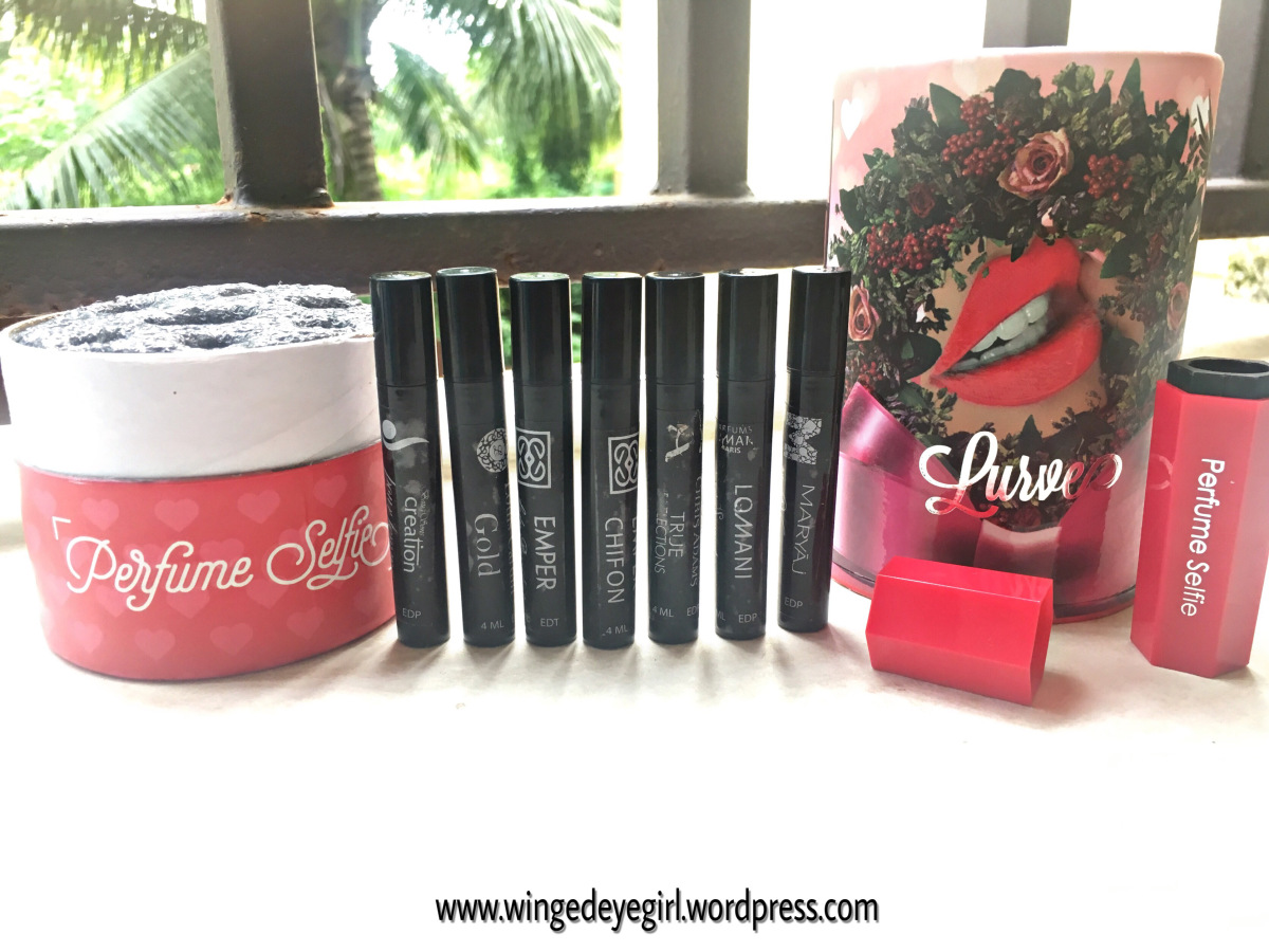 @thatwingedeyeblogger's cover photo for 'PERFUME BOOTH SELFIE LURVE EDITION – REVIEW'
