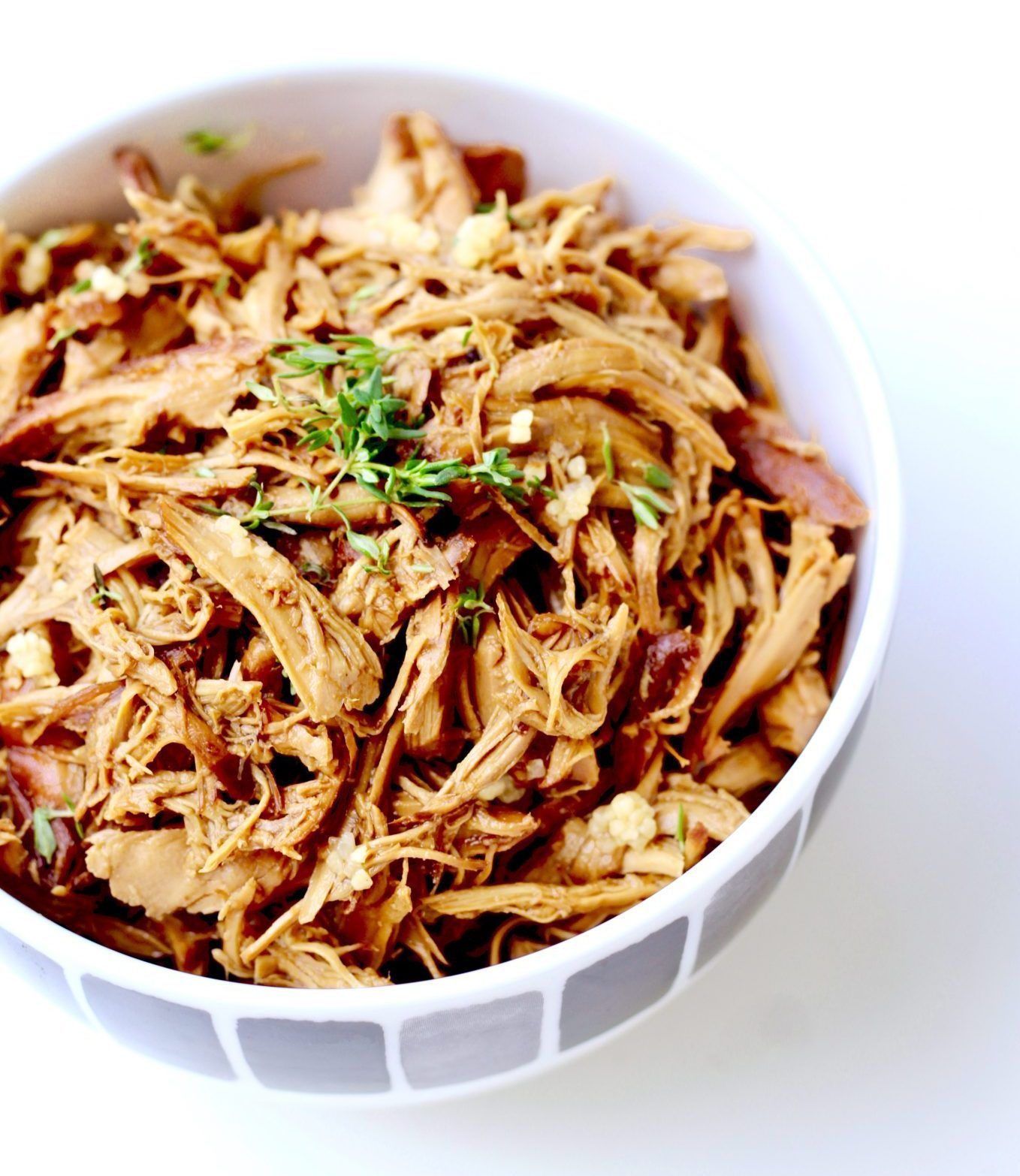 @hellospoonful's cover photo for 'Healthy Honey Garlic Chicken Crock Pot Recipe for Busy Moms'