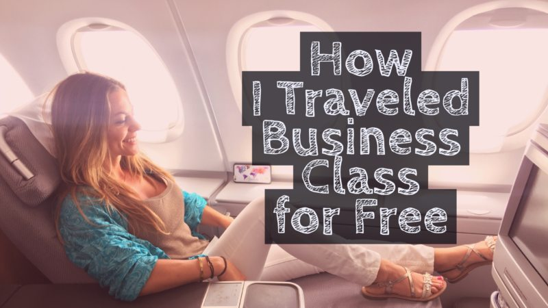 @roamaroo's cover photo for 'How I Traveled Business Class to Europe for Free'