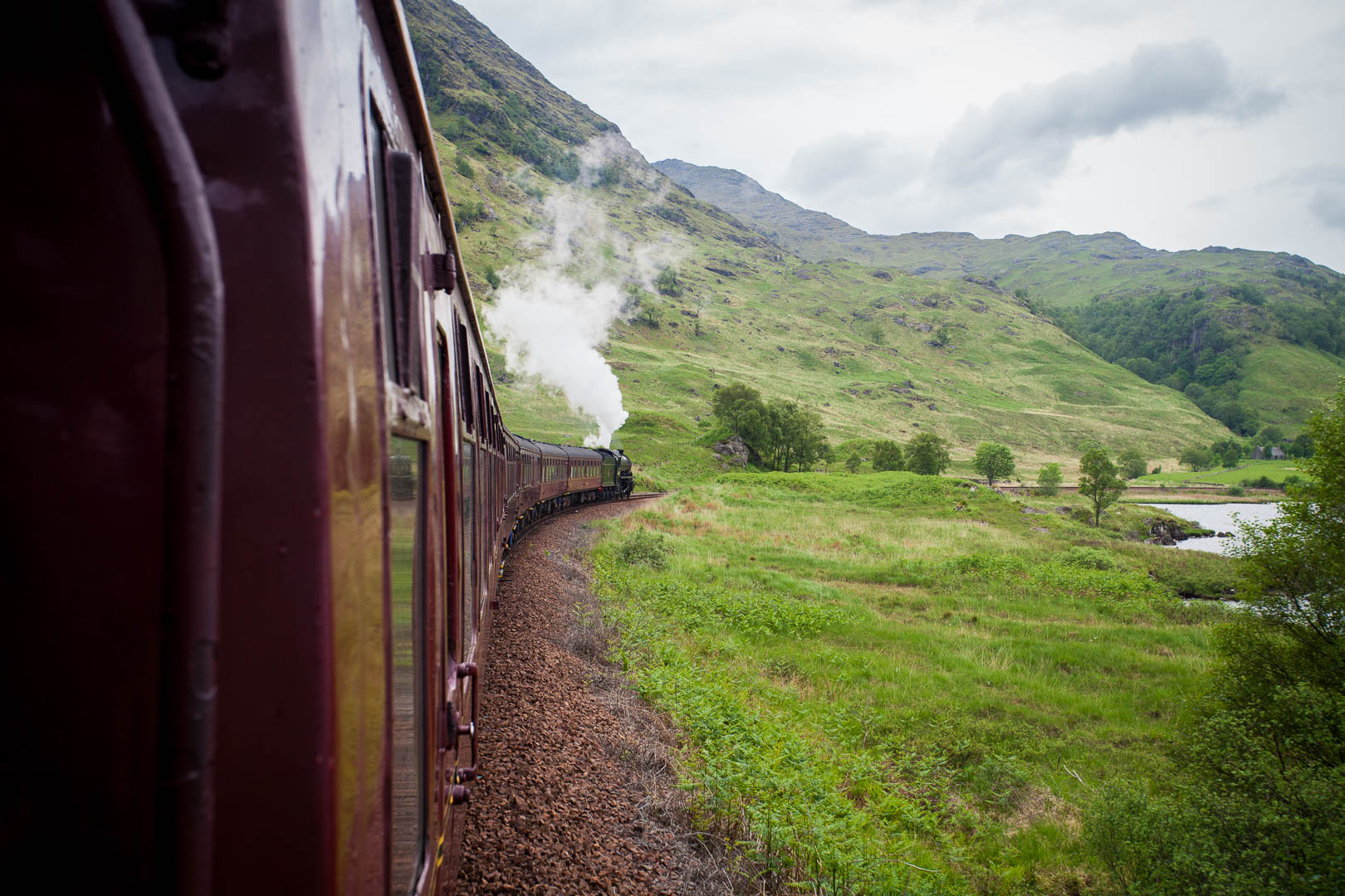 @watchmesee's cover photo for 'My Scottish Travel Bucket List: Riding the Hogwarts Express'
