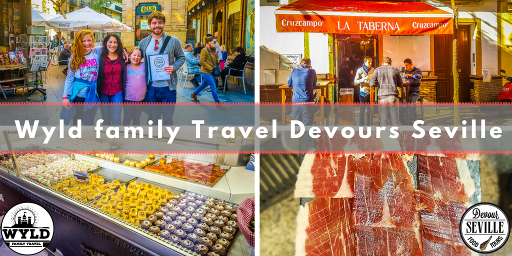 @wyld_family_travel's cover photo for 'Wyld Family Travel Devour the famous Sevilla Tapas'