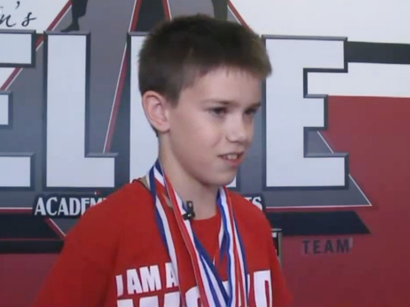 @ethanfineshriberofficial's cover photo for 'Ethan Fineshriber: Boy With Autism Wins World Title in Taekwondo'