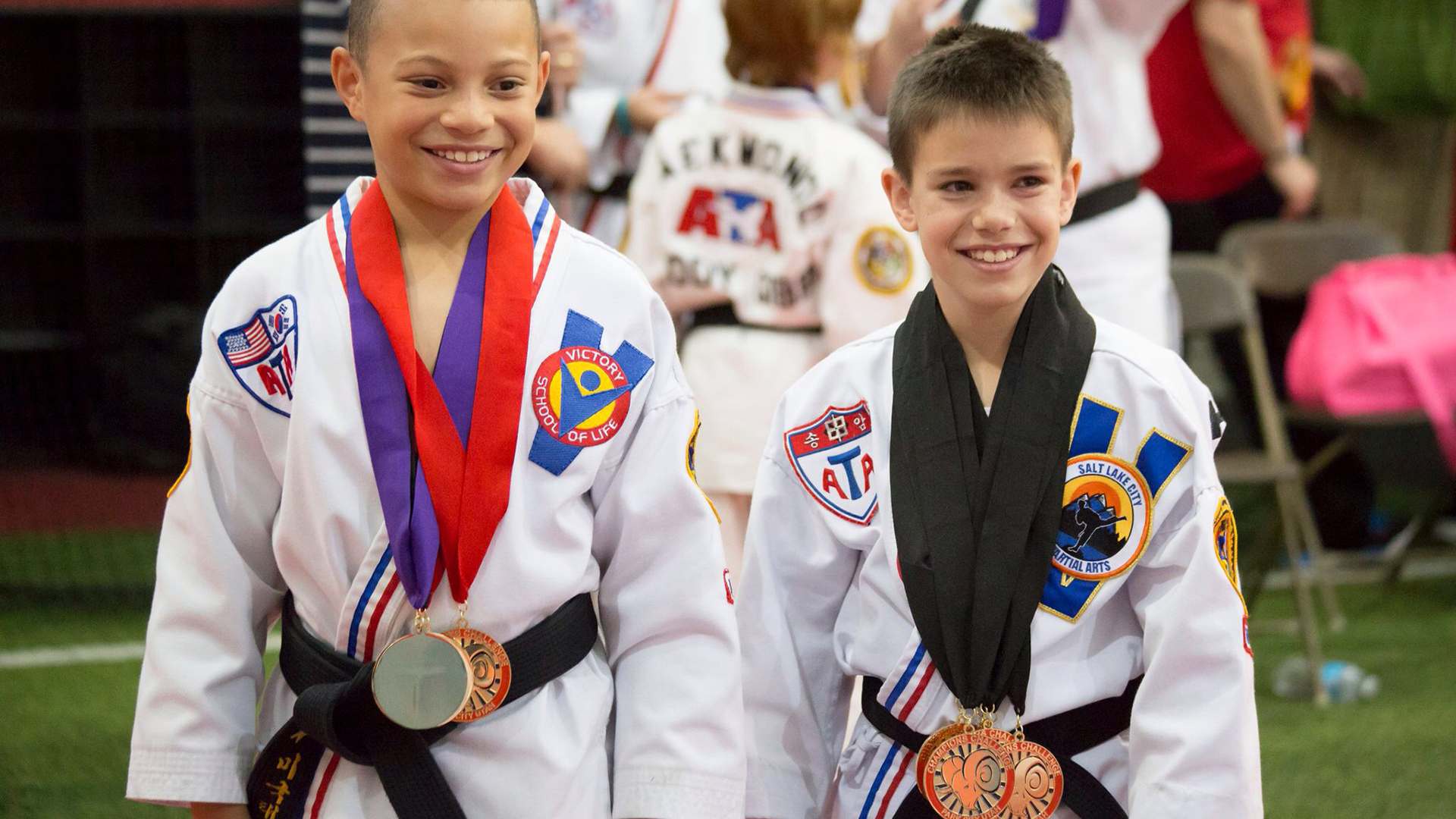 @ethanfineshriberofficial's cover photo for 'Taekwondo brings friends and confidence to 11-year-old boy with autism'