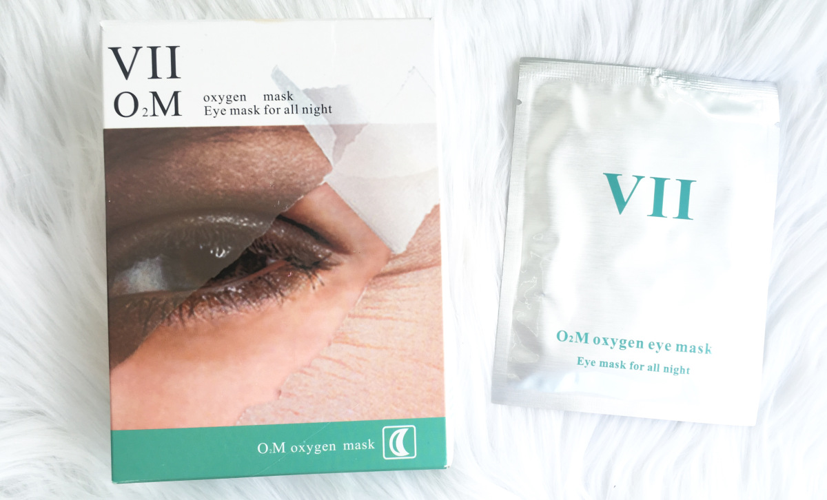 @beautyandtheleast_'s cover photo for 'VII O₂M Oxygen Eye Mask Review'