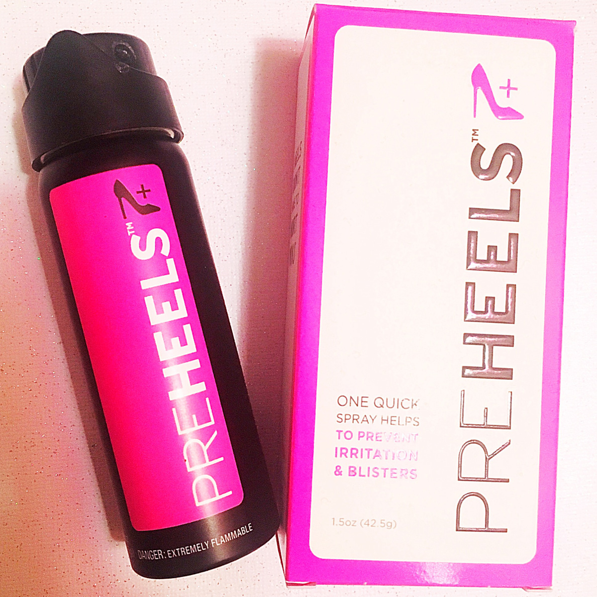 @beautyandtheleast_'s cover photo for 'PreHeels Review: Irritation & Blister Prevention Spray'