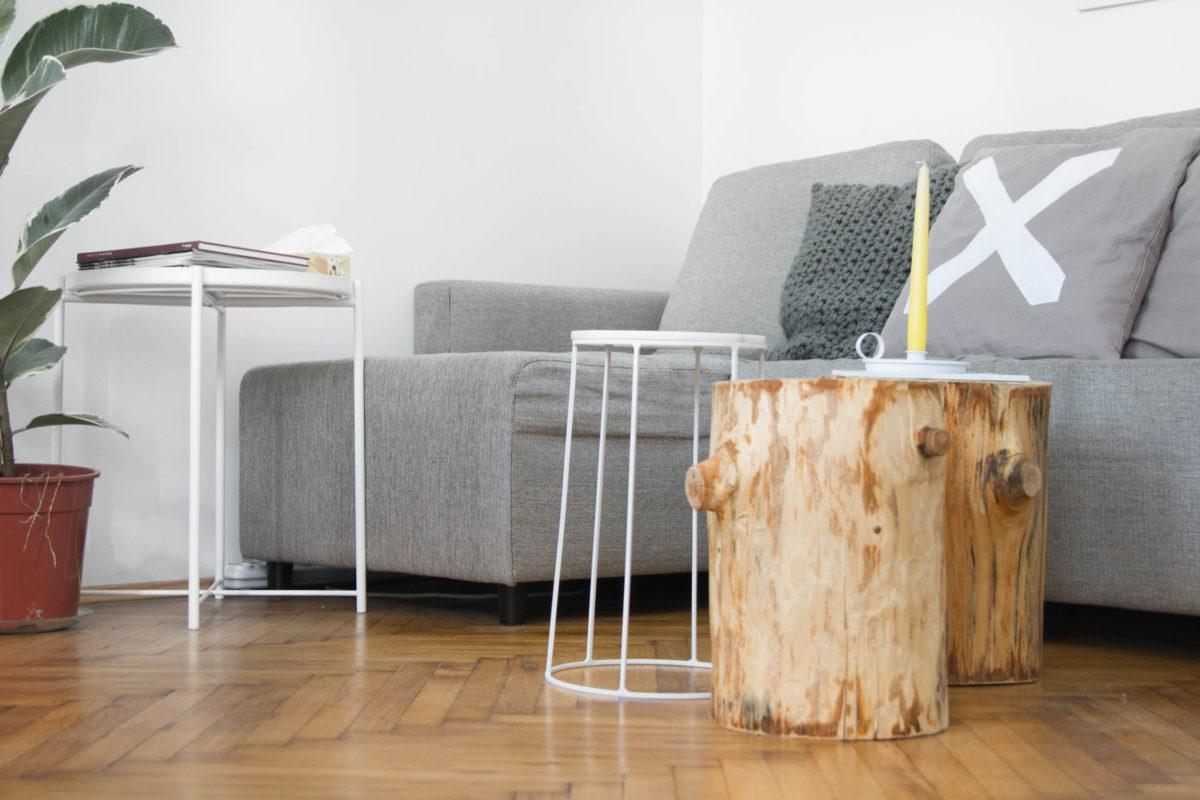 @yellowgirl_at's cover photo for 'Wohnzimmer Update* - Couchtischgruppe und Wandgestaltung - yellowgirl der DIY und lifestyle Blog'