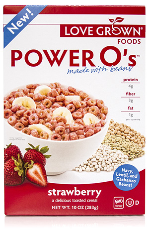 @food_of_history's cover photo for 'Cereal Made From Beans - Review of Strawberry Power O's'