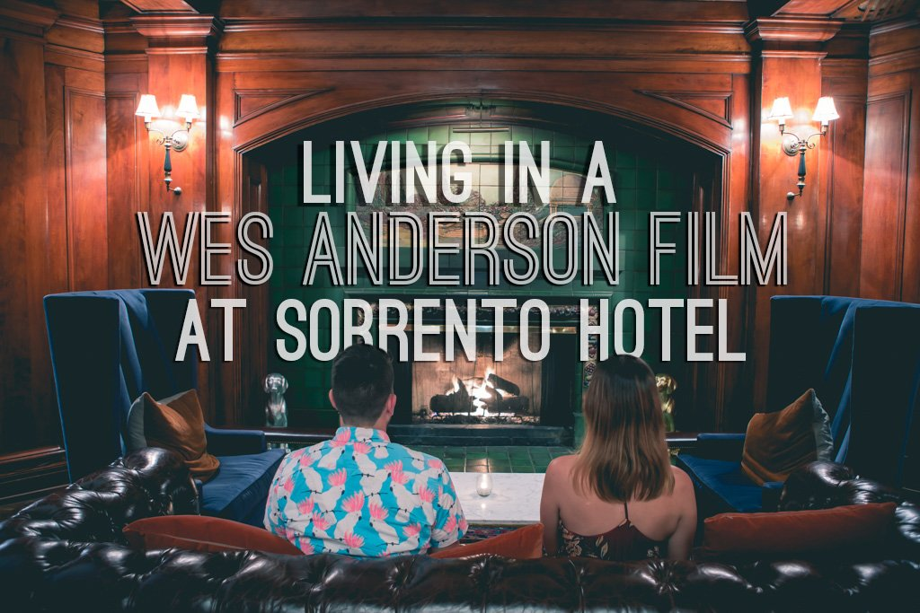 @boboandchichi's cover photo for 'Living in a Wes Anderson Film at Sorrento Hotel - Bobo and ChiChi'