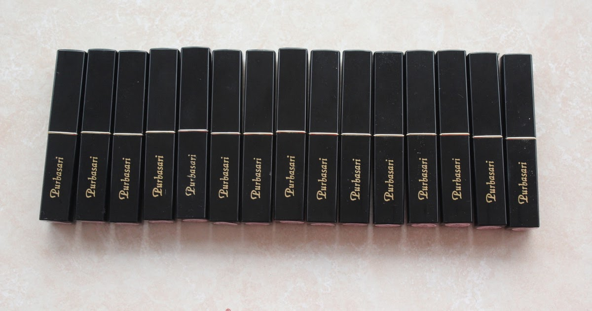 @aulliasha's cover photo for 'FULL REVIEW : PURBASARI LIPSTICK COLOR MATTE 81-95 (FOTD AND SWATCHES INSIDE)'