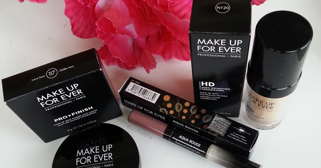 @aulliasha's cover photo for 'MAKE UP FOR EVER HAULS + REVIEW INSIDE!'