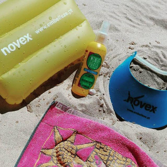 @asteoriasdaelsa's cover photo for 'Review | Spray Protetor Desembaraçante Minha Praia'