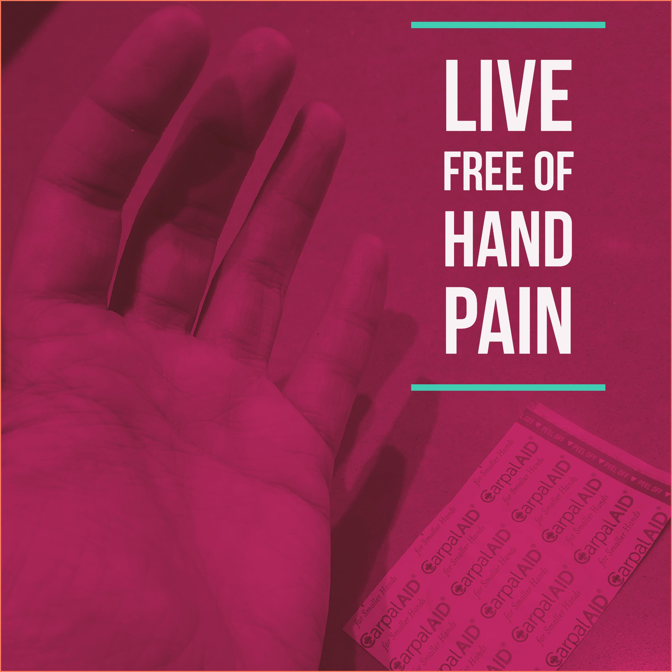 @knithacker's cover photo for 'Review: The CarpalAID Hand Patch – Relieves Hand & Wrist Pain Associated With Carpal Tunnel Syndrome'
