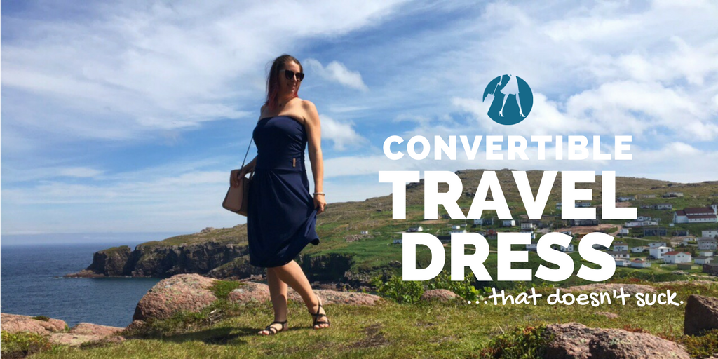 @suitcaseandheels's cover photo for 'A Convertible Travel Dress That Doesn't Suck'