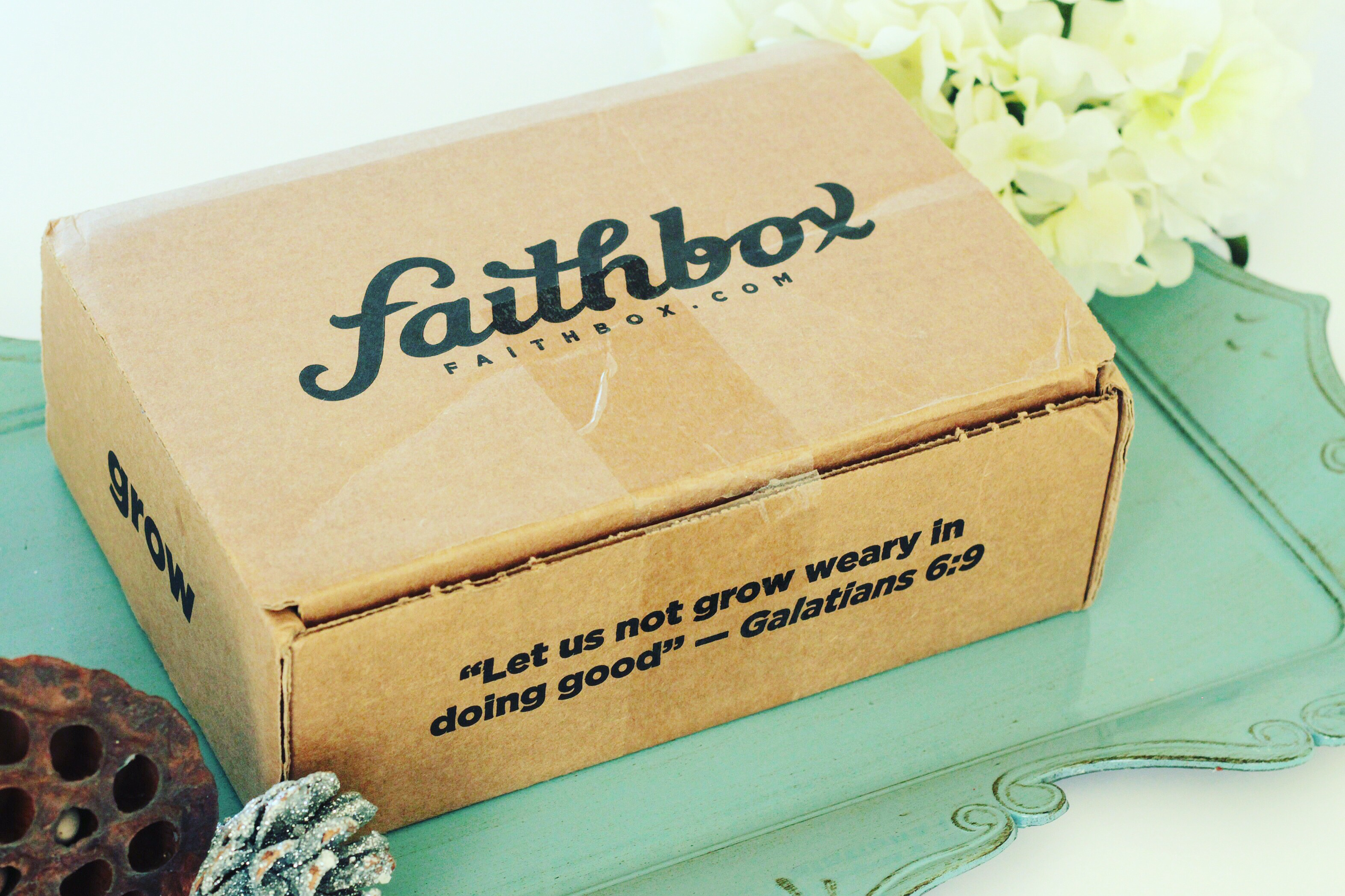 @misspettigrewreview's cover photo for 'Box Alert! Unboxing and Review of Faithbox. – Miss Pettigrew Review'