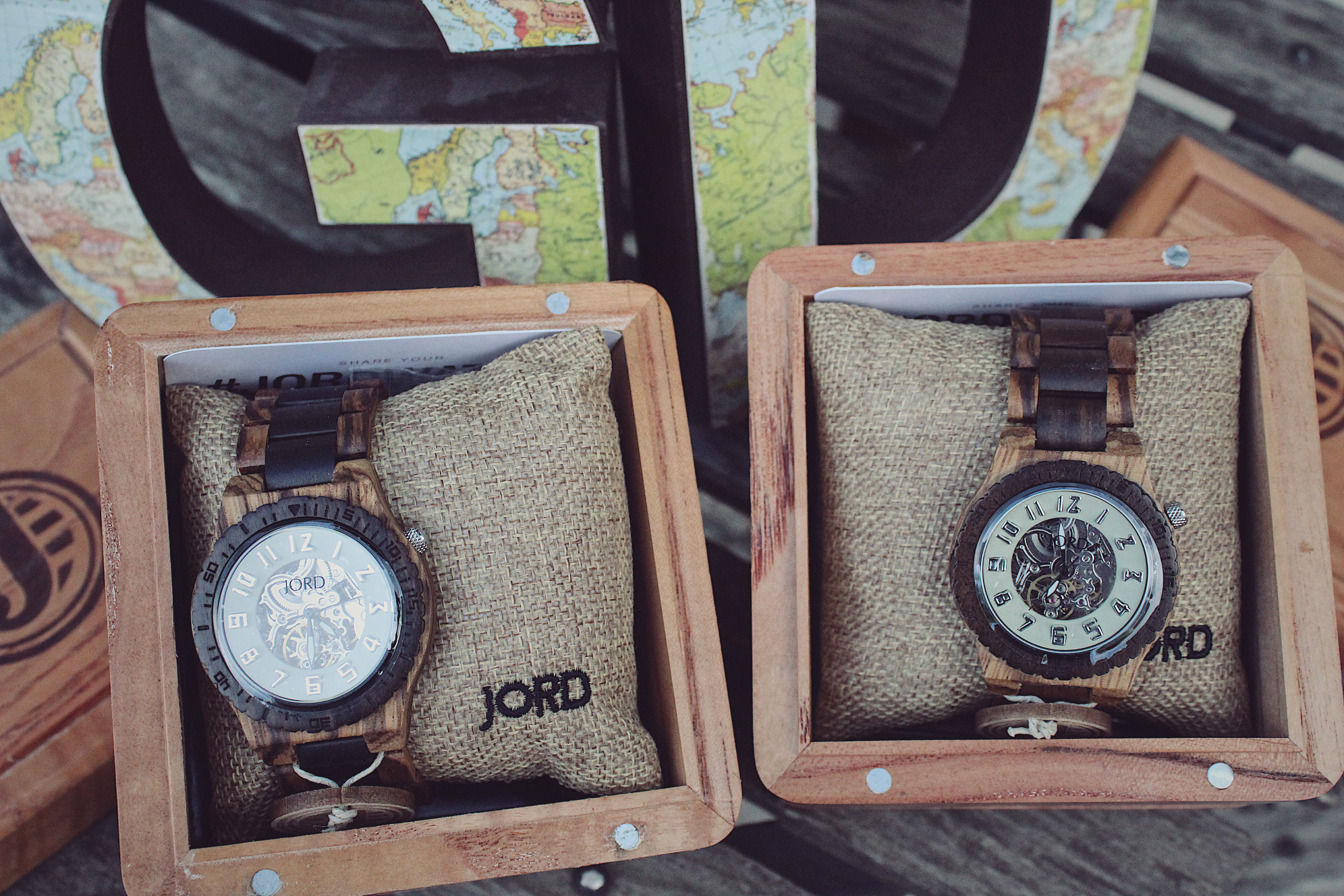 @gdblogsite's cover photo for 'JORD Wood Watch + GIVEAWAY'