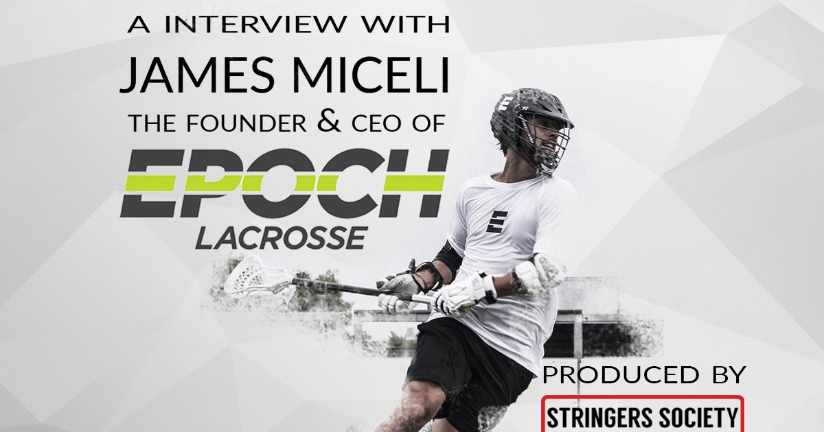 @stringerssociety's cover photo for 'Epoch Lacrosse: Better Quality or Bust?'