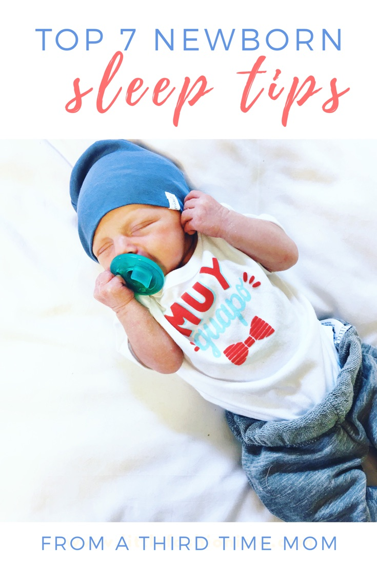 @emilymkrause's cover photo for 'my top 7 newborn sleep tips'
