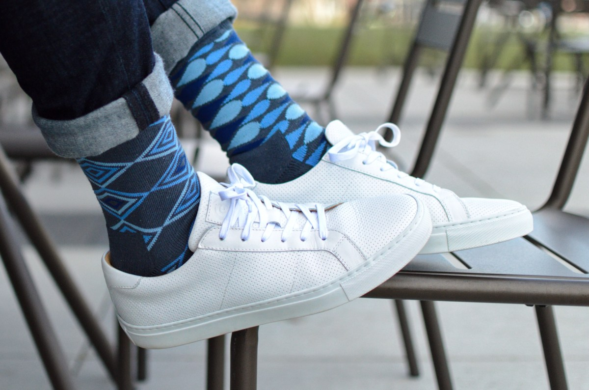 @the_next_gentleman's cover photo for 'You'll Never Run Out of Matching Socks with Prince + Pete'