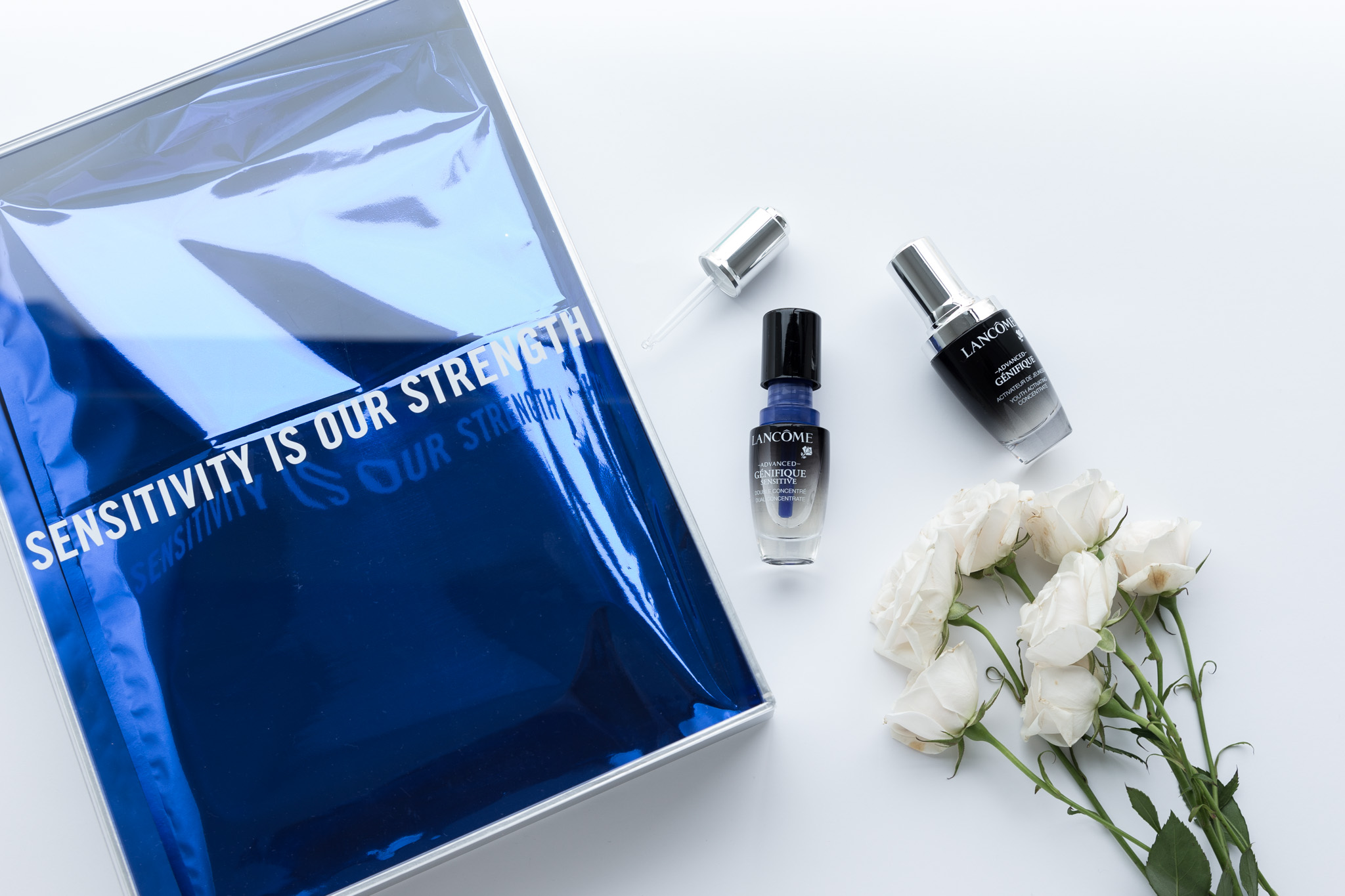 @themoderngirl's cover photo for 'Lancôme Advanced Genifique Sensitive - A One Month Treatment to Combat Bad Skin Days'