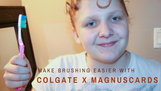 @ghastly_girl's cover photo for 'Make Brushing Easier with Colgate & MagnusCards for ASD - Ghastly Girl'