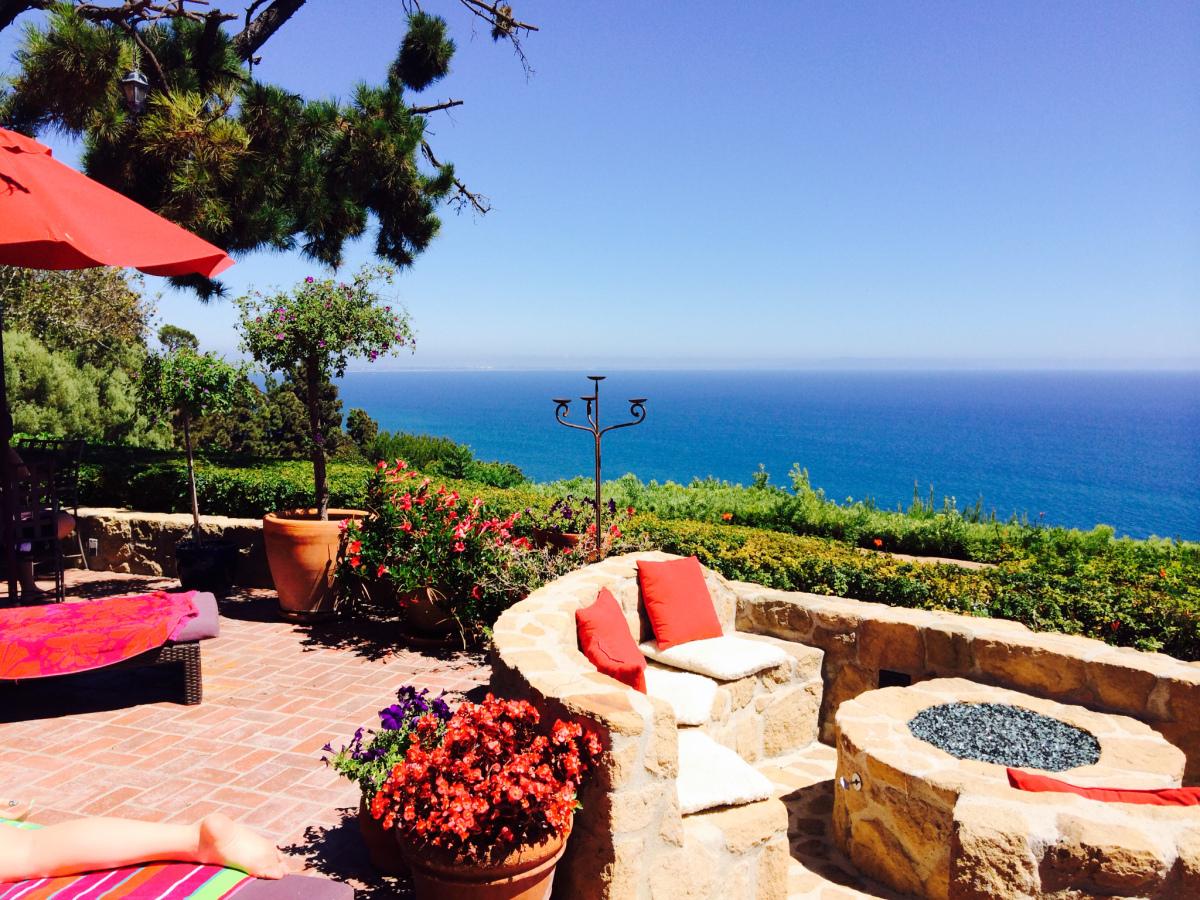 """@ajbenson_'s cover photo for '""""The Sky's More Blue in Malibu""""'"""