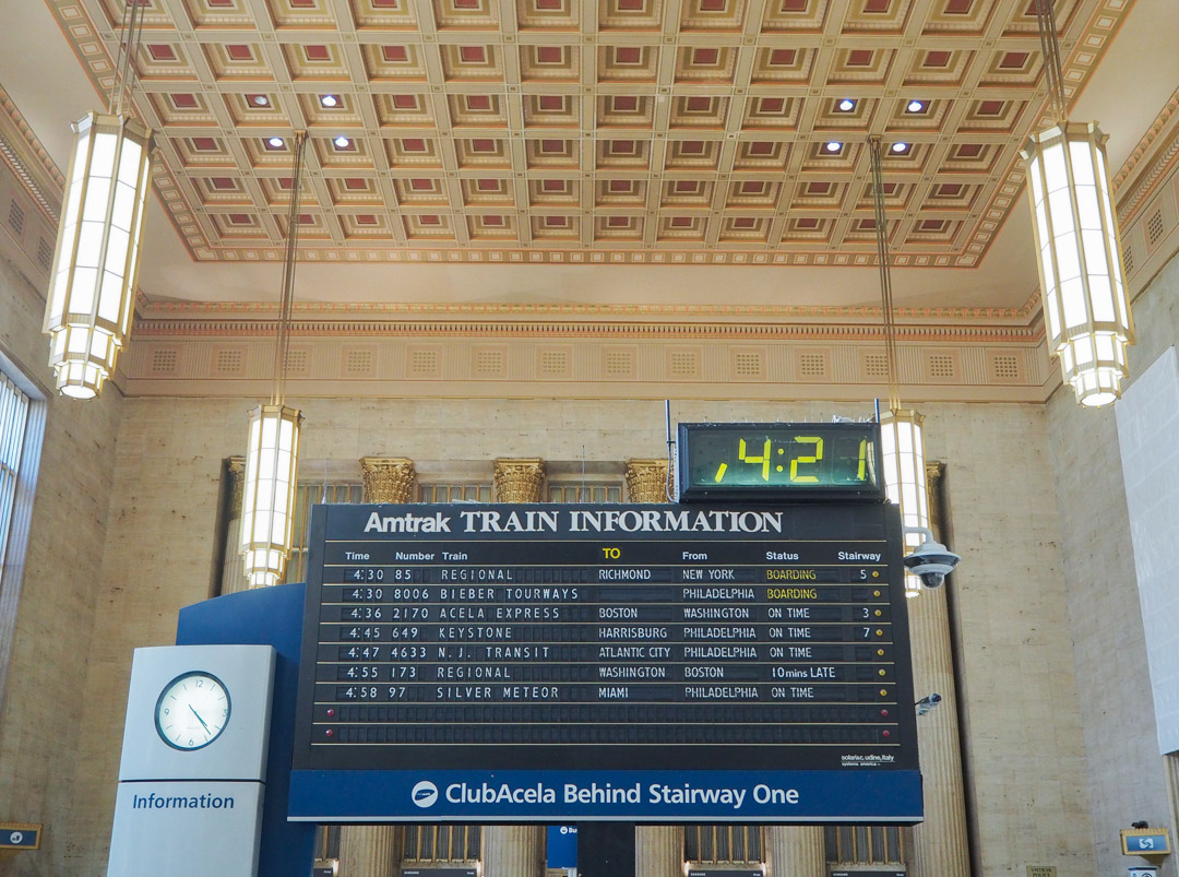 @getlostwithjackie's cover photo for 'Taste of European Travel in US: Amtrak's Acela Express'