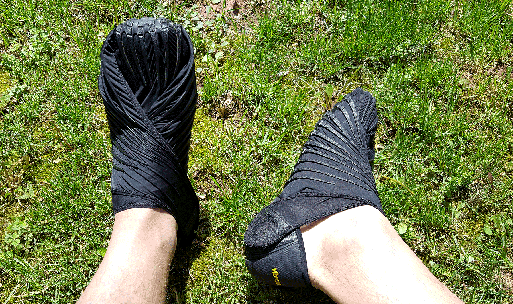 @coachhelder's cover photo for 'Vibram Furoshiki Wrap Shoe Review - Coach Helder'