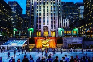 @adventurpro's cover photo for ''Tis the Season in New York City: Rink at the Rock - AdventurPro'