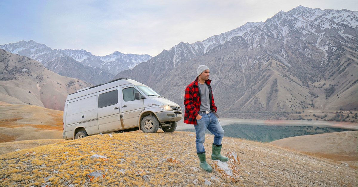 @joaoleitaoviagens's cover photo for '#Vanlife in Kyrgyzstan - Travel in Central Asia with a campervan'