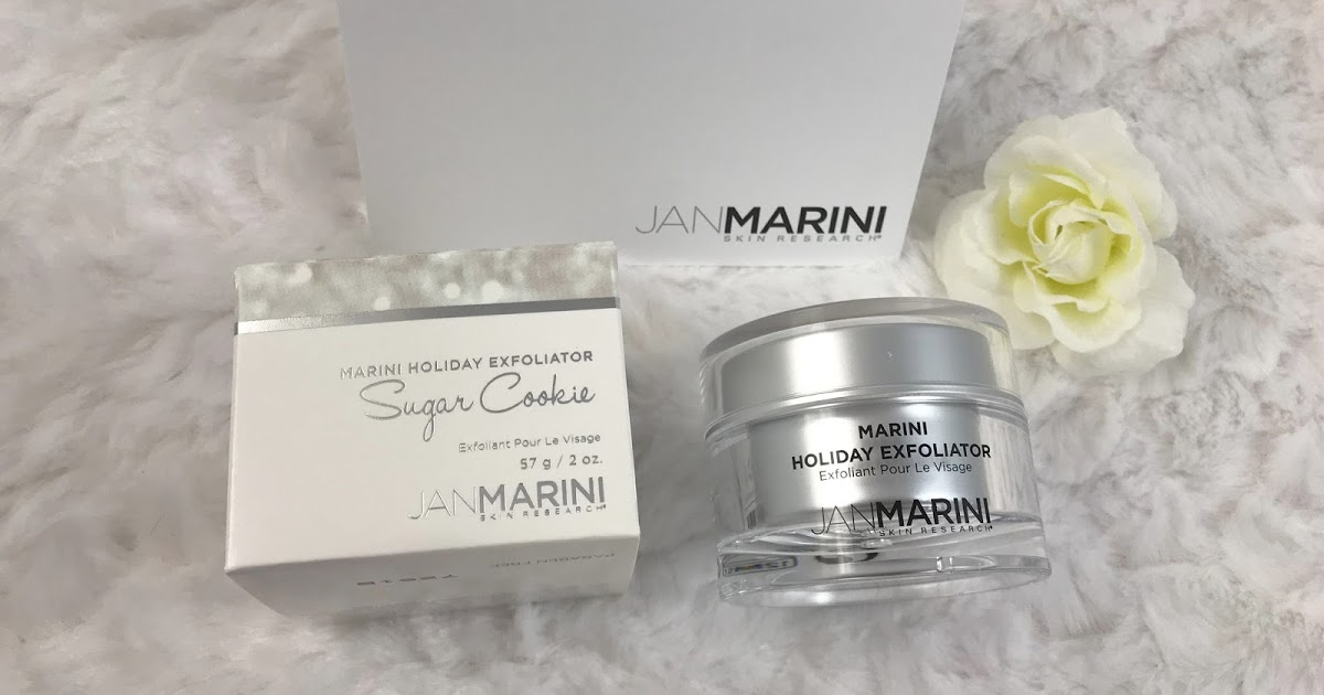 @parma_star's cover photo for 'Review: Jan Marini Sugar Cookie Marini Holiday Exfoliator Limited Edition'