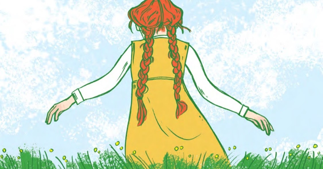 @toast.x2's cover photo for 'Anne of Green Gables: Hell to the graphic novel YEAH!'