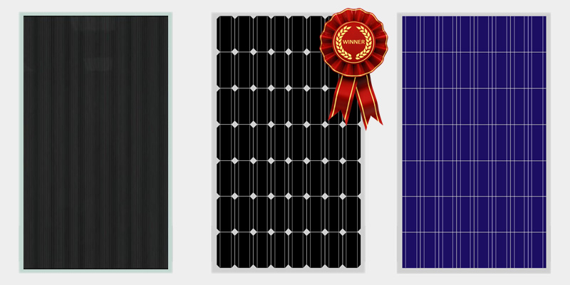 @greentumble's cover photo for 'Most Efficient Solar Panels on the Market 2018 | Greentumble'
