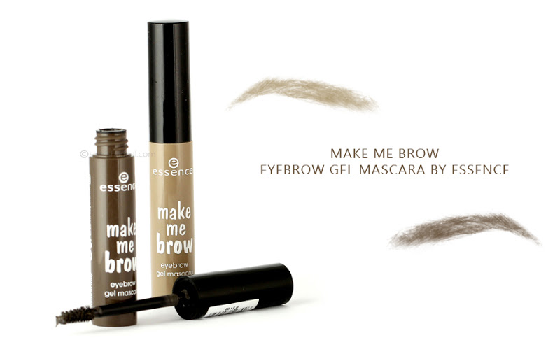 @sahrishadeel's cover photo for 'Make Me Brow Eyebrow Gel Mascara by Essence - Review & Swatches'