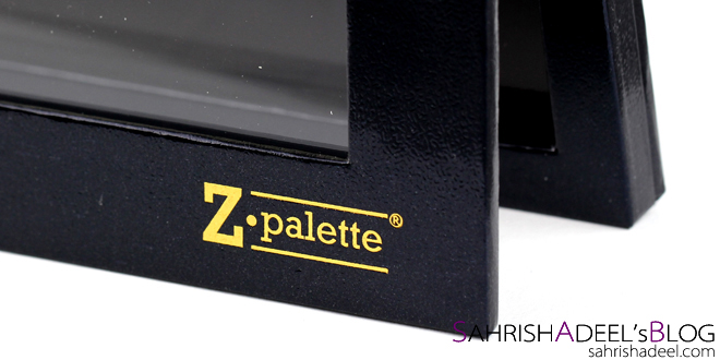 @sahrishadeel's cover photo for 'Z Palette Extra Large in Black - Review'