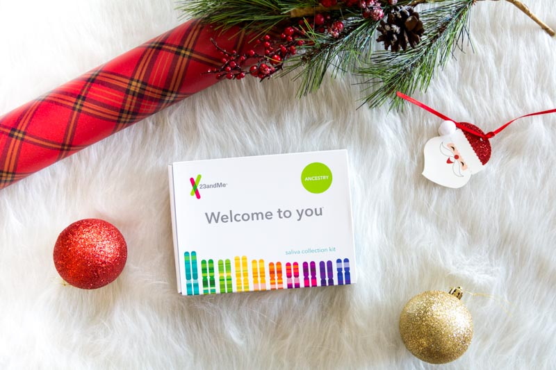 @collectivelychristine's cover photo for 'Unique Gift Idea with 23andMe - Collectively Christine'