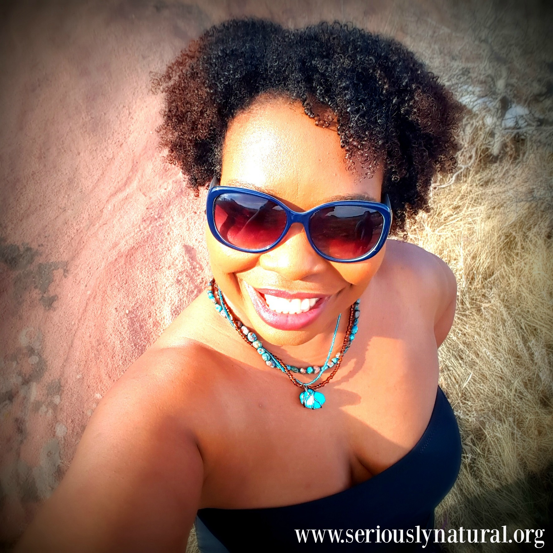 @seriouslynatural's cover photo for 'Embracing My Beauty This Summer & Forever With Target Plus Size Swim'