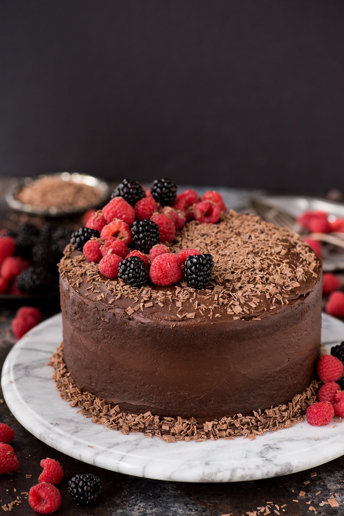 @beth_thefirstyear's cover photo for 'Chocolate Velvet Cake   The First Year'