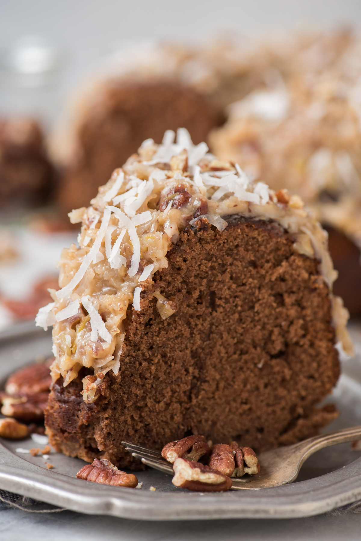 @beth_thefirstyear's cover photo for 'German Chocolate Bundt Cake   The First Year'