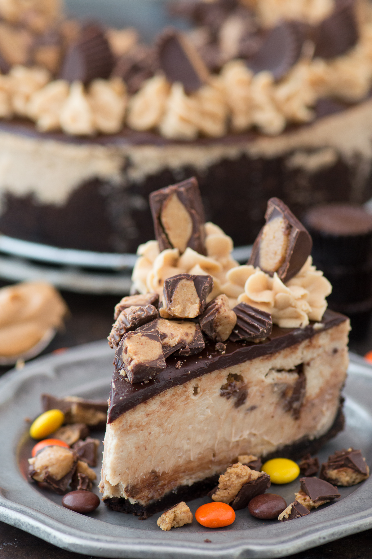 @beth_thefirstyear's cover photo for 'Reese's Peanut Butter Cheesecake | The First Year'