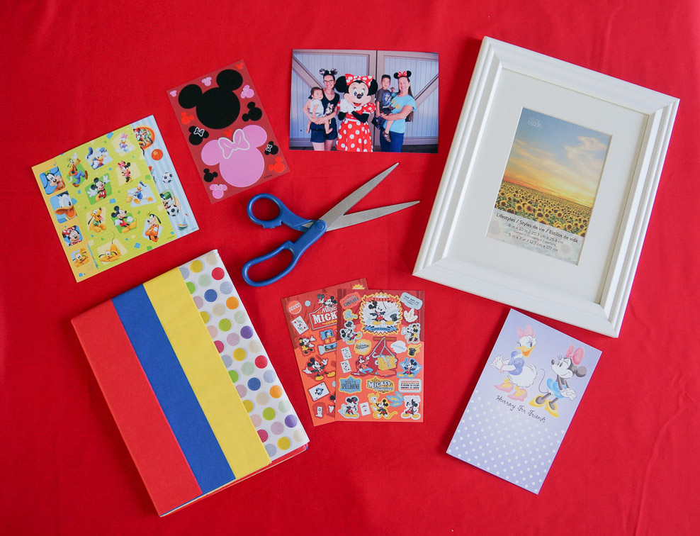 @marcieinmommyland's cover photo for 'How to Create a Mickey Mouse Photo Frame with American Greetings'