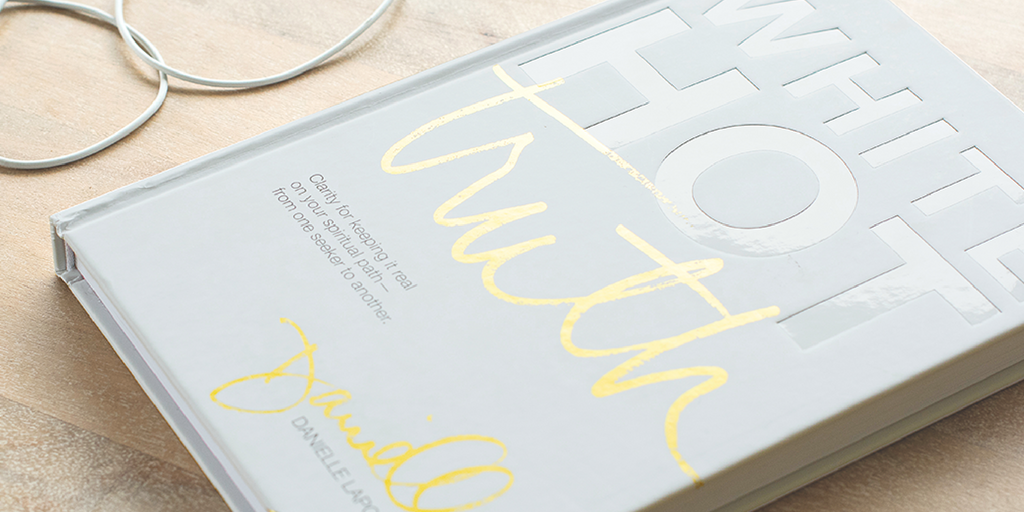 @soulfulguides's cover photo for 'White Hot Truth Book Review a different spiritual book'