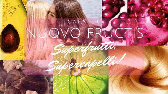 @sonnitranquilli's cover photo for 'Garnier Fructis non è più lo stesso grazie ai #SuperFrutti   Andoutcomesthegirl'